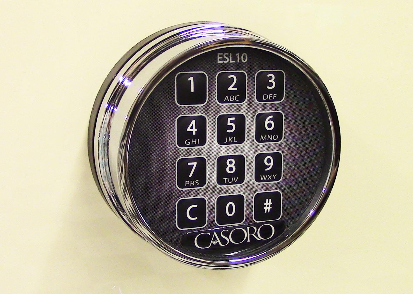 casoro keypad lock